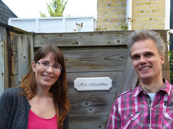 Docenten Erwin en Christel